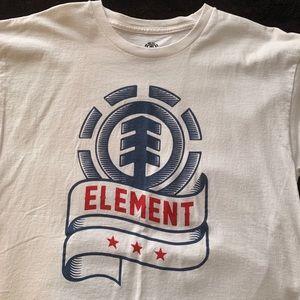 Element White T-Shirt